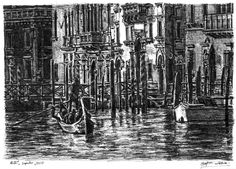 Venice - drawings and paintings by Stephen Wiltshire MBE
