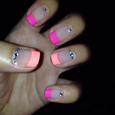 Cute nail art Styles for Women 2014 Get Nails, Love Nails, How To Do Nails, Pretty Nails, Hair And Nails, Nail Swag, Shellac Nails, Nail Polish, Nail Designs 2014