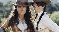 """Bandidas"" (2006) - Starring Salma Hayek as Sara Sandoval and Penelope Cruz as Maria Alvarez"