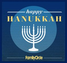 Hanukkah Sameach! May your Festival of Lights be bright.