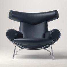Category: Easy Chair  Model: EJ100;Pøllestolen;Ox Chair  Year: 1960  Designer: Wegner,Hans J.1914-2007  Maker: Erik Jørgensen Møbelfabrik