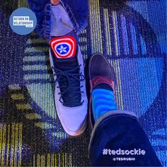 These Walmart guys really have their #tedsockie game on! Tom Douglass... well done 😎  #FollowThePath #biSummit... #NoLetUp!👊🏻 — feeling inspired at Sam's Club Corporate Headquarters.