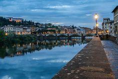 L'Arno a Firenze - Guido Gavazzi