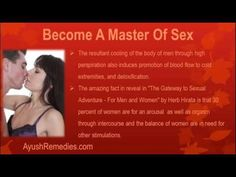 This video describes about become a master of sex. You can find more detail about kamdeepak capsules at http://ayushremedies.com
