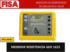 MEDIDOR RESISTENCIA GEO 1625- Medición de resistividad en suelos de 4 hilos - FERRETERIA INDUSTRIAL -FISA S.A.S Carrera 25 # 17 - 64 Teléfono: 201 05 55 www.fisa.com.co/ Twitter:@FISA_Colombia Facebook: Ferreteria Industrial FISA Colombia