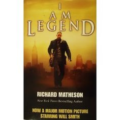 I Am Legend by Richard Matheson.  Apparently the idea for the Vincent Price film 'The Last Man Alive' (which is brilliant by the way).  The author hasn't cared for any adaptations, but I am curious about it.