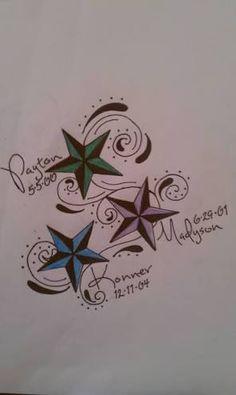 Image result for children's names tattoos for women                                                                                                                                                                                 More
