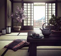 Interior japonés