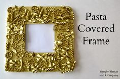 DIY Gold Frames (that kids of all ages like to make) | Simple Simon and Company