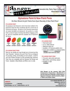 CHA Sneak Peeks Day 3 – New from Dylusions!