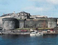 The original 13th century Athlone Castle situated in Roscommon, Ireland
