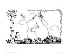 Beautiful posters sized 24 x 30 cm. The package includes 4 different images packed in cellophane with carton. Decorate your home with these lovely Moomin poster Hug Illustration, Christmas Illustration, Moomin Shop, Enchanted Doll, Tove Jansson, Beautiful Posters, Moon Child, Best Memories, Kids Cards