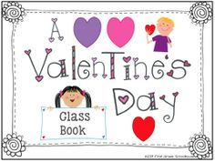 I Love Valentine's Day Literacy and Math. Valentine's Day activities and centers. First Grade.