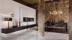 Afbeeldingsresultaat voor steenstrips woonkamer