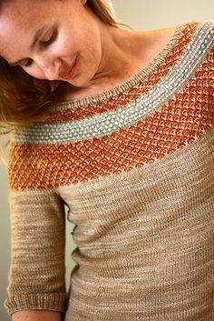 Farb-und Stilberatung mit www.farben-reich.com - Ravelry: Yukiya Pullover pattern by Julia Trice