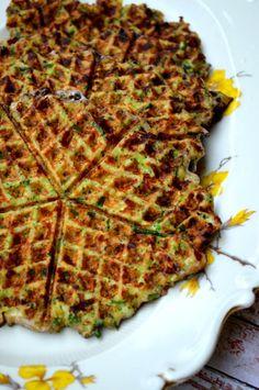Low Carb Broccoli Cheddar Waffles.