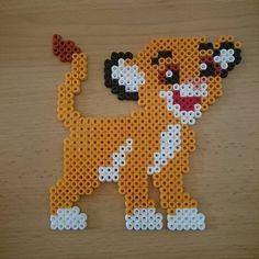 Simba (The Lion King) hama beads by Jenny Specht