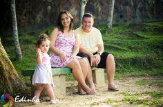 Família Almeida, Dajna, Aline e Paulo