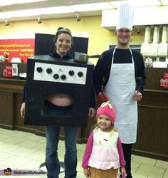 A Bun in the Oven - Homemade Halloween Costumes