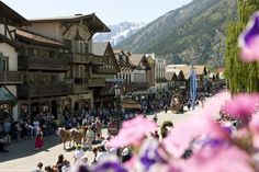 We're not sure it gets more charming than Leavenworth, WA!   - CountryLiving.com