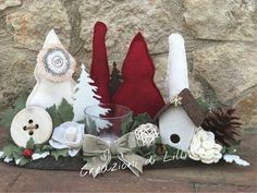 #creazionidililli visita la nostra pagina fb #portacandela #natale #decorazioni #style
