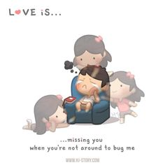 HJ-Story :: Love is… Missing you | Tapas - image 1