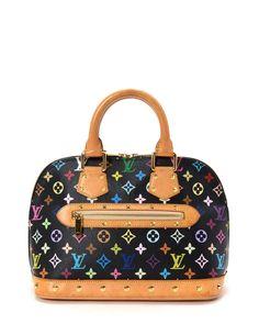 Louis Vuitton Multicolor Monogram Alma Handbag - Vintage