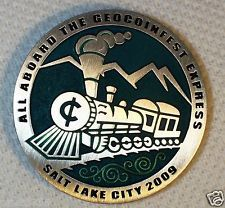 GeocoinFest 2009 - All Aboard the Geocoinfest Express - New Unactivated Geocoin