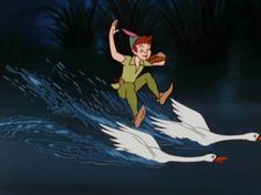 If you can't find your waterskis, use swans. | 17 Magical Lifehacks To Learn From Disney Movies