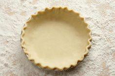 Pie Crust Recipe Homemade Pie Crusts, Pie Crust Recipes, Quiche Recipes, Food Network Recipes, Food Processor Recipes, Cooking Recipes, Cooking Hacks, Hot Water Pie Crust Recipe, Dough Recipe