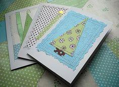 A roundup of easy handmade Christmas card ideas!