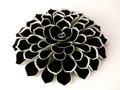 Wafer Paper & Frosting/Sugar Sheet Flower tutorial.  Gotta try this on a cake.