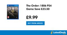 The Order: 1886 PS4 Game Save £23.50, £9.99 at Argos