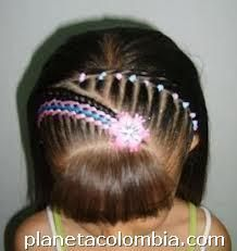Party Hairstyles, Braided Hairstyles, Little Girl Hairstyles, Braids, Hair Beauty, Hair Styles, Color, Babyshower, Hair Ideas