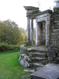 Les jardins d'Ermenonville, le temple de la philosophie