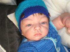 gorrita de lana para bebés
