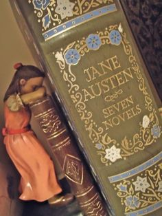 """""""One doesn't read Jane Austen; one re-reads Jane Austen."""" <---- again and again and again"""