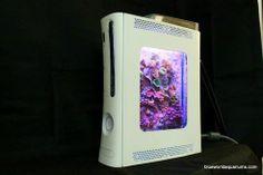 Broken Xbox 360 Upcycled Into Nano-Reef Aquarium, wow.