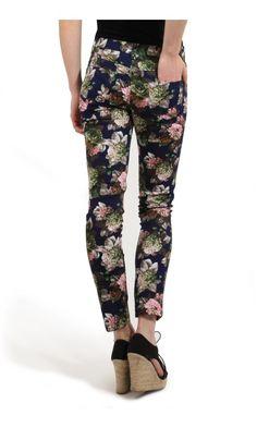 Louche Jeana Floral Print Jeans