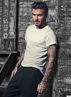 David Beckham lance sa nouvelle collection pour H&M (PHOTOS)