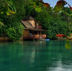 Ian Fleming Villa @ the GoldenEye Hotel {Oracabessa, Jamaica}
