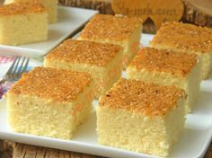 Susamlı Tepsi Keki Resimli Tarifi - Yemek Tarifleri
