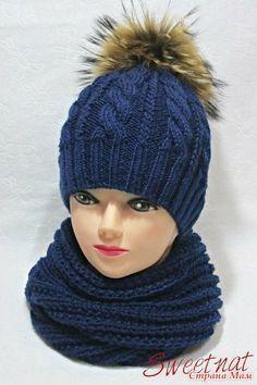 """Доброго времени суток! Закончила на днях зимний комплект """"Winter Night"""" из шапочки и снуда."""