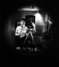 Sally Mann   Self-portrait   1974    I LOVE Sally Mann!  I think her work is amazing!