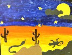 desert bulletin board ideas -