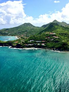 St. Barths. Choose from 22 beaches to swim at, then enjoy delicious French cuisine and shop at the best chic boutiques.