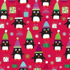 PENGUIN GAMES TISSUE 12/PK - Holiday Collection