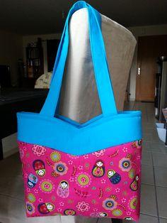 Sac Annie par Marie P. (pas de blog). #Annie bag by Marie P. (no blog).