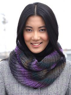 Cowl | Yarn | Free Knitting Patterns | Crochet Patterns | Yarnspirations