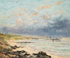"maufra maxime storm at kerhostin 1903 sotheby (from <a href=""http://www.oldpainters.org/picture.php?/30163/category/13215""></a>)"